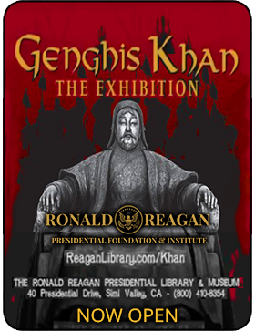 Reagan Library - Genghis Khan The Exhibition